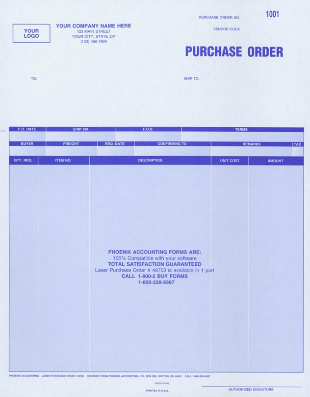 Phoenix Accounting Corporation Checks And Forms